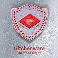 ภาชนะเครื่องครัวสเตนเลส อลูมีเนียมลายไทย ตราเพชร Diamond Brand Kitchen Ware
